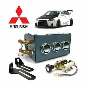 Mitsubishi Auxiliary Cab Heater Box Assembly Underdash Compact VR4 lancer OZ Evo