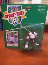 John Barnes England 1989 Sportstars Action Figure Kenner NIB Three Lions Soccer