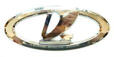 LADA CROMO Logotipo O EMBLEMA Puerta de Maletero Insignia 120x50mm Parrilla Del