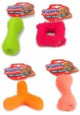 1 x LONG LASTING Latex Squeaky Dog Chew Toy Fetch Strong Pet Play Safe Novelty