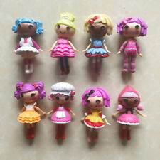 8Pcs/Lot Mini Lalaloopsy Doll Collection As Gift Birthday Toys For Kids Girls