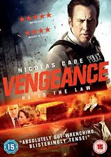 Vengeance DVD (2017) Nicolas Cage ***NEW***