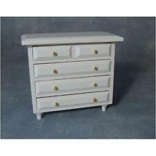 12th Scale White Drawers  For Dolls Houses