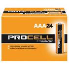 Duracell AAA Standard Battery, Procell, Alkaline, PK24 - PC2400BKD