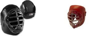 NEW! Ronin Actionflex Combatant Headgear Weapons Sparring Head Gear - Black Red