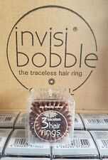 New Brown Invisibobble Invisi Bobble The Traceless Hair Ring Original *3 Pack*