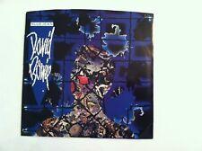 RARE - DAVID BOWIE - BLUE JEAN - (45 RPM + PIC. SLEEVE - BLUE VINYL)     N MINT