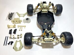 Vintage Team Associated RC10T RPM White Arms + EXTRAS Rare Truck Stealth