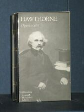 Nathaniel Hawthorne - Opere scelte - Mondadori - Prima edizione I Meridiani, ...