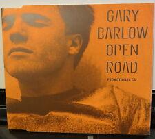 GARY BARLOW - OPEN ROAD Promotional CD SINGLE - 1997