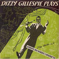 """Dizzy Gillespie – Dizzy Gillespie Plays-Vinyl, 10"""", 33 ⅓ RPM, Album, Mono"""