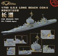 Flyhawk PE 1/700 USS Long Beach CGN-9 (for Dragon) FH 710008