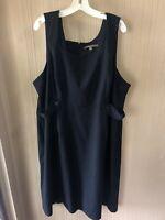 Women's Plus Size Merona Black Dress Size 24W
