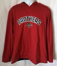 Reebok Florida Panthers NHL Reversible Hoodie Sweatshirt Mens Size XL Red/Blue