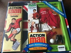 Action man 50th anniversary Manchester United footballer