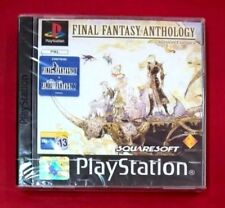 Final Fantasy Anthology- Versión Europea 2discos (sin manual) PAL España Sony PL