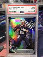 2018 Phoenix Tom Brady #63 PSA 9 GEM MINT Refractor Card LOW POP Patriots Bucs