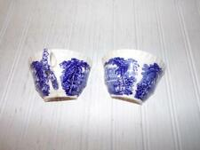 Masons Vista Blue Cup Cut for Crafts - Upcycled - Mosaics