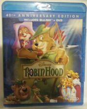 Robin Hood (Blu-ray/DVD, 2013, 2-Disc Set, Canadian) Disney