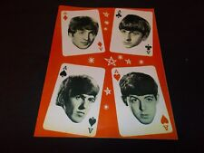 THE BEATLES/ MARY WELLS 1964 Tour Program UK (VG++)