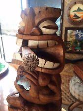 NEW Tiki Bottle Opener w/ Cigar bar Smokin Tikis Fx4