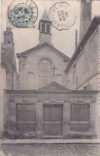 CPA 02 LAON Chapelle de l'Hopital rue des Casernes
