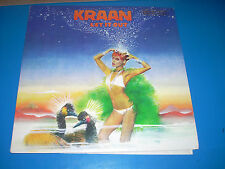 KRAAN Let it Out LP 1975 Passport Records 98015 NM/NM demo emboss on cover 1A/1B