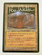 MTG   SIGNED VOLRATH´S - STRONGHOLD - PORTUGUESE