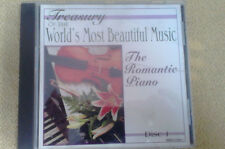 ROMANTIC PIANO Waltzes Raindrops Flower Pieces Slavonic Dance CD Classical Music
