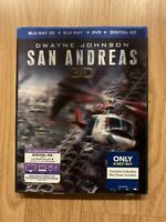 Dwayne Johnson San Andreas 3D ( Blu-Ray 3D+ Blu-Ray+ DVD+ Digital HD)