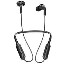 Wireless Bluetooth Neckband Headset Stereo Sweatproof Sports Headphone With Mic