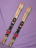 ELAN XRJ HYPER kid's jr youth skis 90cm with Salomon 305 kids ski bindings SNOW~