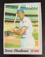 1970 Donn Clendenon # 280 New York Mets NY Topps Baseball Card