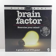 Brain Factor DVD Mind Game Hosted By Des Lynam - New & Sealed - 2008