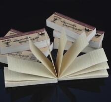 2X Hornet Slim Natural RAW Hemp Rolling Tips Booklets 50 Leaves Per Book