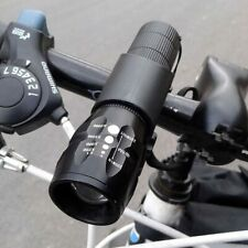 Bicycle Light LED 3 Mode Bike Cycling Front Waterproof Lamp + Mount Clip