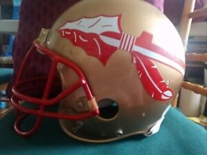 College Florida State Full Size Riddell Football Helmet - Used Condition
