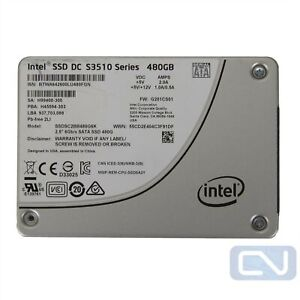 """Intel SSDSC2BB480G6K DC S3510 Series 480GB SATA III 2.5"""" SSD"""