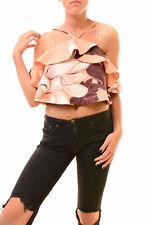 Keepsake Women's  Top Sleeveless Peach Floral Size S RRP $150 BCF78