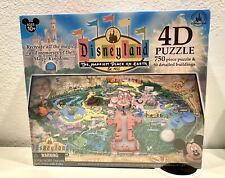Disneyland 4D Puzzle. New & sealed hard To Find!  750 Pc.