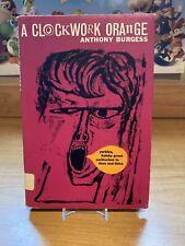 A Clockwork Orange Anthony Burgess Heinemann Hb 1970 w/dj Uk rare sci-fi book!