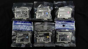 Genuine Epson T0487 Seahorse Multipack Printer Ink Cartridges C13T04874010