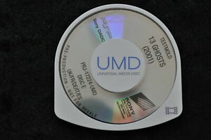 13 Ghosts 2001 UMD TESTMOLD Sony PSP 17224
