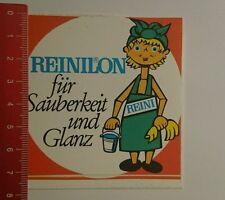 Aufkleber/Sticker: Reinilon für Sauberkeit und Glanz Reini (16081650)