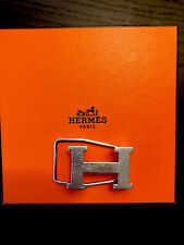 Authentic Hermes Sterling Silver H Money Clip