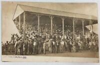RPPC 1910 Miller South Dakota The Crowd Before The Race At The Fair