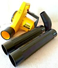 PARAMOUNT Electric Leaf Blower ~ Model PB 150 ~ 4 Piece Adj Air Intake Works!!
