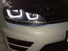 FARI NERI VW GOLF 7 ANGEL EYES 3D A LED DAYLINE DAL 2012 IN POI