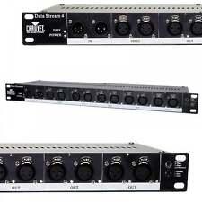 Chauvet Datastream 4 DMX Optical Booster 3 & 5 Pin XLR Stage Lighting Splitter