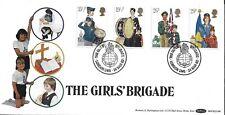 GB 1982 organizaciones juveniles Benham OFICIAL FDC Londres Niñas Brigada PMK